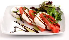 Fresh Mozzarella and Tomato, From FRESH Restaurant